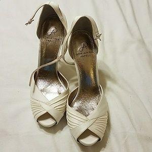 Adrianna Papell Cream Heels